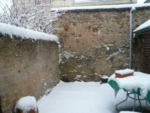 deuxième neige