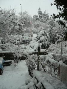 Neige à Champeix